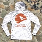 Expedition Surf Shirt Hoodie White Back