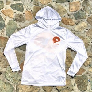 Expedition Surf Shirt Hoodie White Front