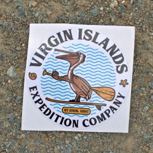 Pelican Paddleboard sticker
