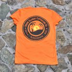Expedition Surf Shirt Womens Orange Back