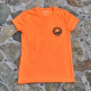 Expedition Surf Shirt Womens Orange Front